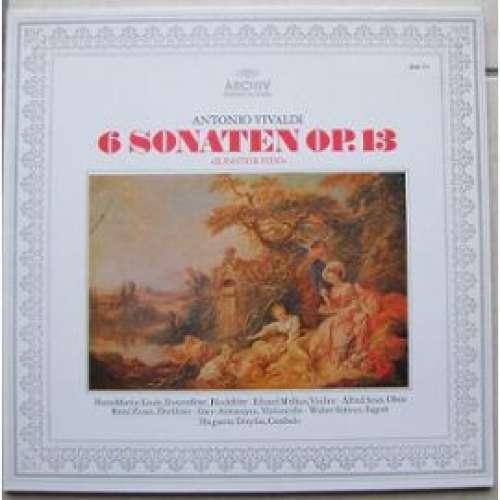 Bild Antonio Vivaldi - 6 Sonaten Op. 13 »Il Pastor Fido« (LP, Album, Gat) Schallplatten Ankauf