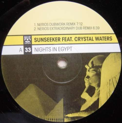 Bild Sunseeker Feat. Crystal Waters - Nights In Egypt (12) Schallplatten Ankauf