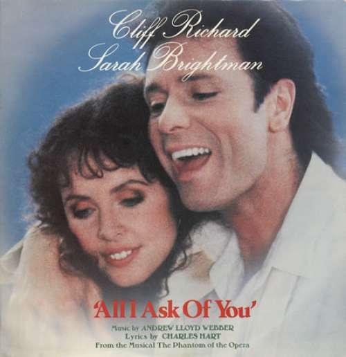 Cover zu Cliff Richard And Sarah Brightman, Andrew Lloyd Webber - All I Ask Of You (12) Schallplatten Ankauf