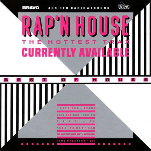 Cover Various - Rap'N House  (The Hottest Trax Currently Available) (LP, Comp) Schallplatten Ankauf