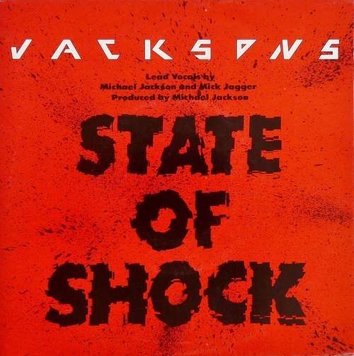 Cover Jacksons* Lead Vocals By Michael Jackson And Mick Jagger - State Of Shock (7, Single) Schallplatten Ankauf
