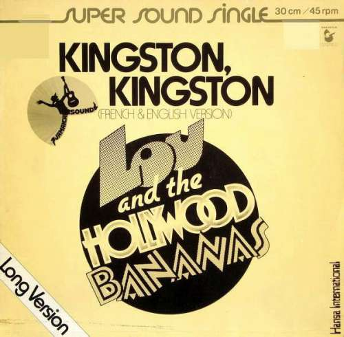 Cover zu Lou And The Hollywood Bananas* - Kingston, Kingston (Long Version) (12, Single) Schallplatten Ankauf