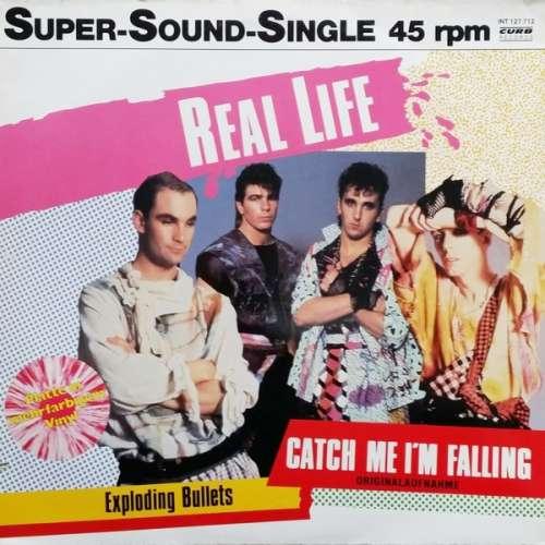 Cover zu Real Life - Catch Me I'm Falling (12, Single, Pin) Schallplatten Ankauf