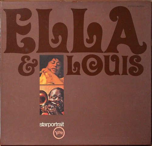Cover Ella* & Louis* - Ella & Louis  (2xLP, Comp + Box) Schallplatten Ankauf