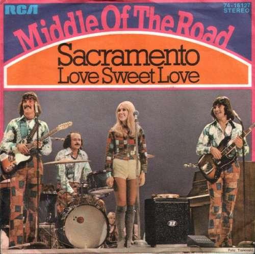 Cover Middle Of The Road - Sacramento (7, Single) Schallplatten Ankauf
