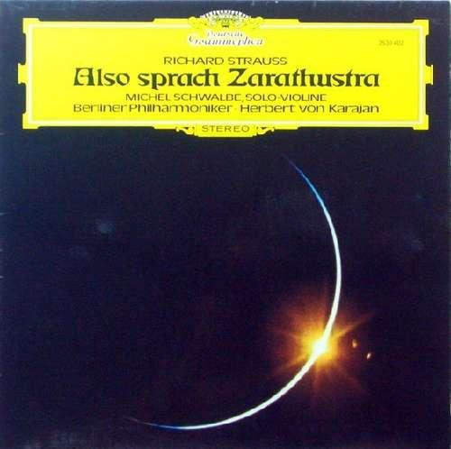 Bild Richard Strauss / Herbert von Karajan, Berliner Philharmoniker, Michel Schwalbé - Also Sprach Zarathustra, Op. 30 (LP, Album, RP) Schallplatten Ankauf