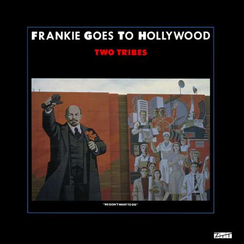 Cover Frankie Goes To Hollywood - Two Tribes (12, Single) Schallplatten Ankauf