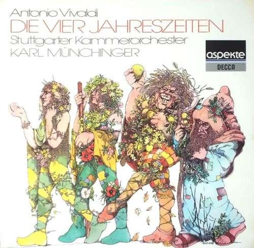 Bild Antonio Vivaldi - Stuttgarter Kammerorchester, Karl Münchinger - Die Vier Jahreszeiten (LP, Album) Schallplatten Ankauf