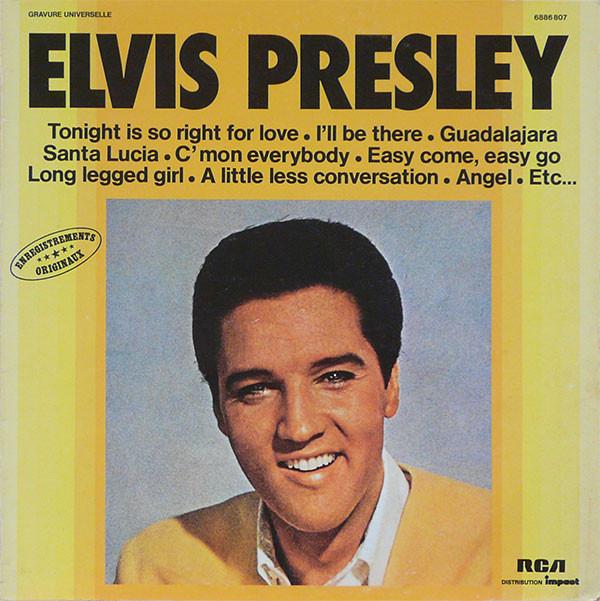 Cover Elvis Presley - Elvis Presley (LP, Comp, RE) Schallplatten Ankauf