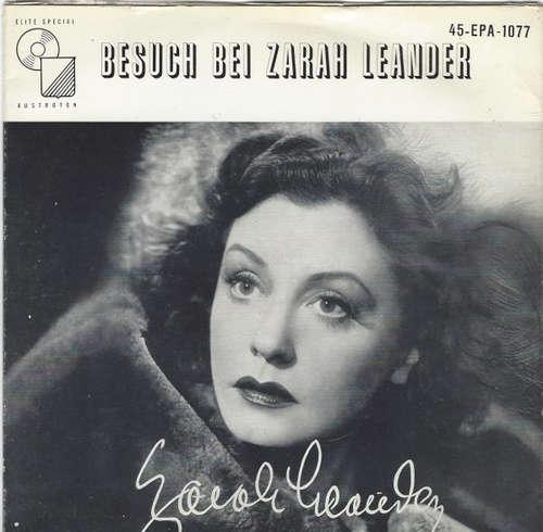 Cover Zarah Leander - Besuch Bei Zarah Leander (7, EP) Schallplatten Ankauf