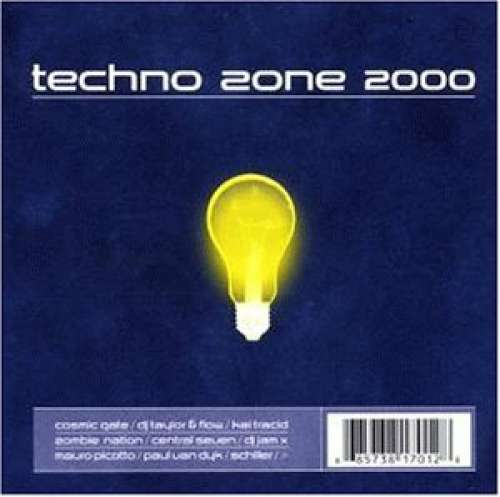 Cover Various - Techno Zone 2000 (2xCD, Mixed) Schallplatten Ankauf