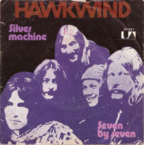 Bild Hawkwind - Silver Machine / Seven By Seven (7, Single) Schallplatten Ankauf