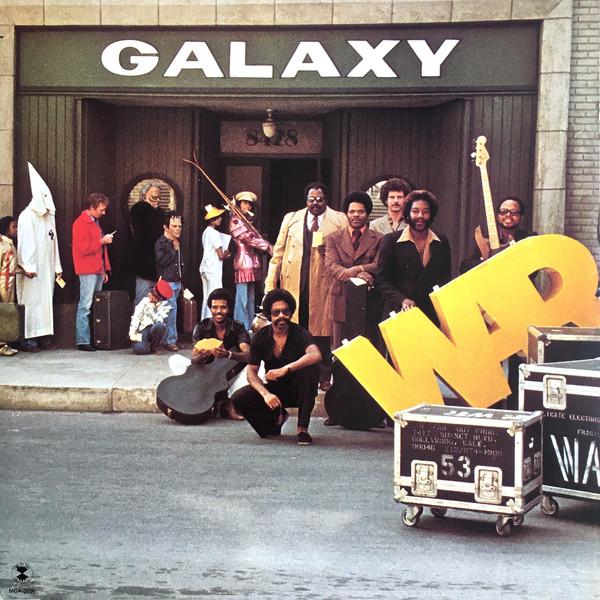 Bild War - Galaxy (LP, Album, Glo) Schallplatten Ankauf