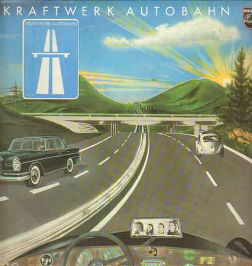 Cover zu Kraftwerk - Autobahn (LP, Album, RP) Schallplatten Ankauf