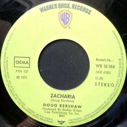 Cover Doug Kershaw - Zacharia (7, Single) Schallplatten Ankauf