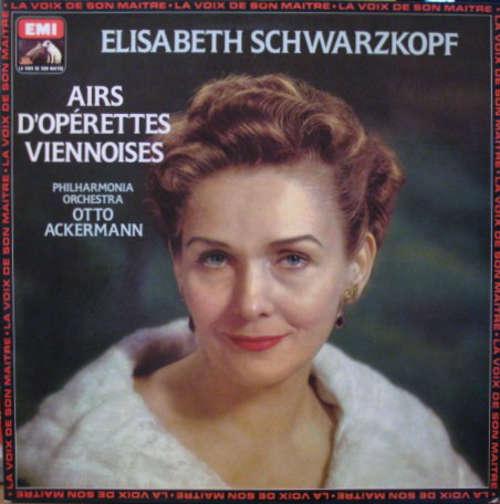 Cover zu Elisabeth Schwarzkopf / Philharmonia Orchestra / Otto Ackermann - Airs D'Opérettes Viennoises (LP, RE) Schallplatten Ankauf