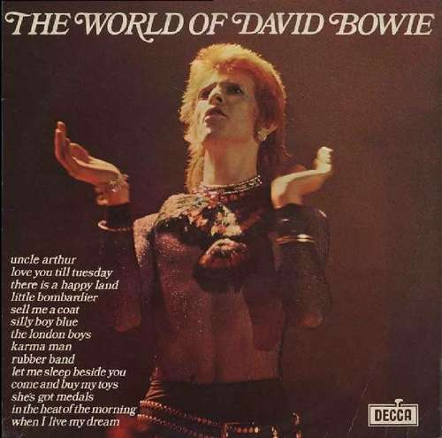 Cover David Bowie - The World Of David Bowie (LP, Comp, RE) Schallplatten Ankauf