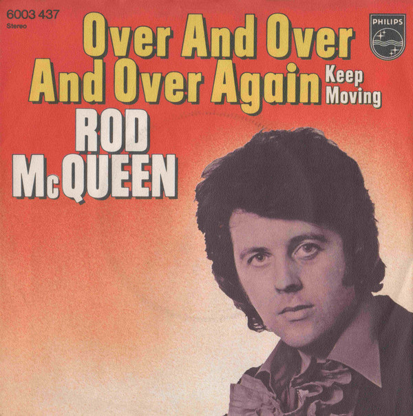 Cover zu Rod McQueen - Over And Over And Over Again (7, Single) Schallplatten Ankauf
