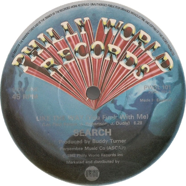 Bild Search (4) - Like The Way (You Funk With Me) (12, Single) Schallplatten Ankauf