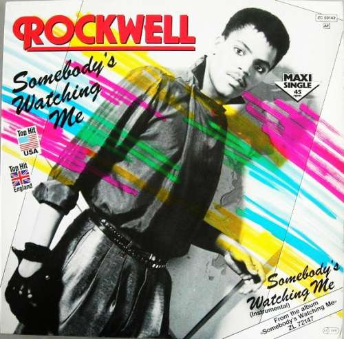 Cover Rockwell - Somebody's Watching Me (12, Maxi) Schallplatten Ankauf