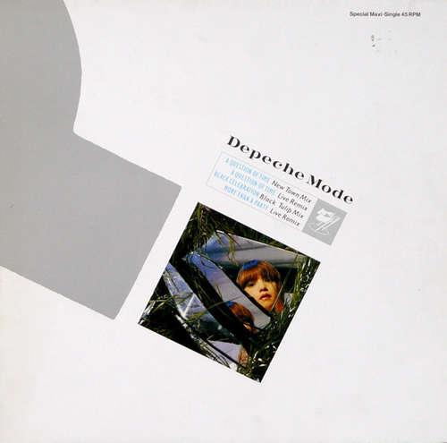 Cover Depeche Mode - A Question Of Time (New Town Mix) (12, Maxi, Ltd, S/Edition) Schallplatten Ankauf