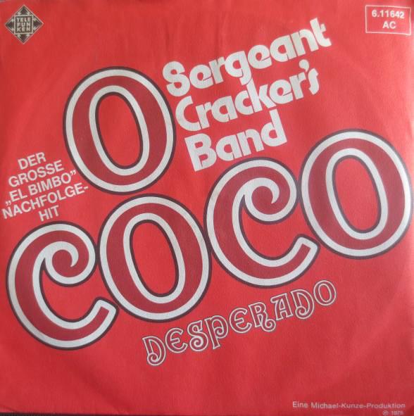 Bild Sergeant Cracker's Band - O Coco (7, Single) Schallplatten Ankauf