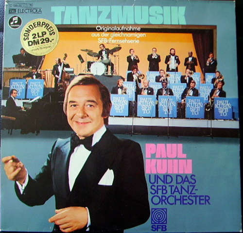 Cover Paul Kuhn  Und Das SFB Tanzorchester - Tanzmusik (2xLP, Comp) Schallplatten Ankauf