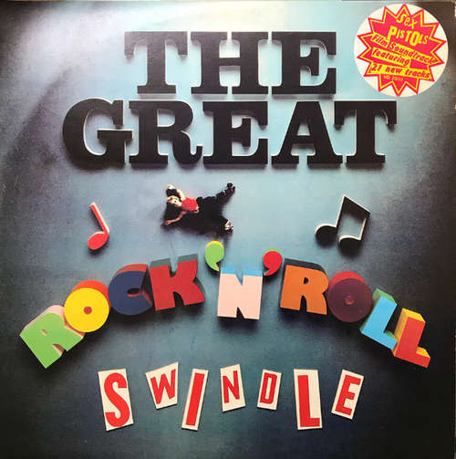 Cover Sex Pistols - The Great Rock 'N' Roll Swindle (2xLP, Album) Schallplatten Ankauf