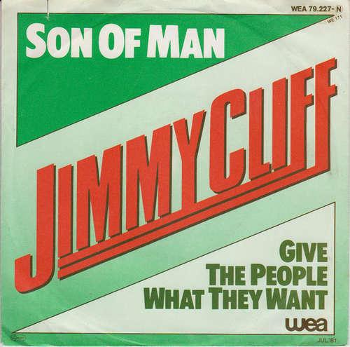 Cover Jimmy Cliff - Son Of Man (7) Schallplatten Ankauf