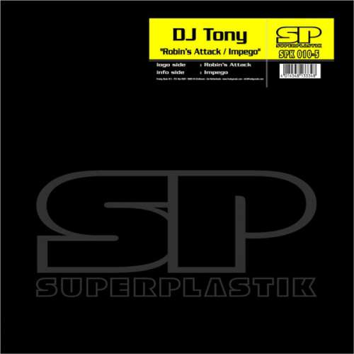 Bild DJ Tony (2) - Robin's Attack / Impego (12) Schallplatten Ankauf