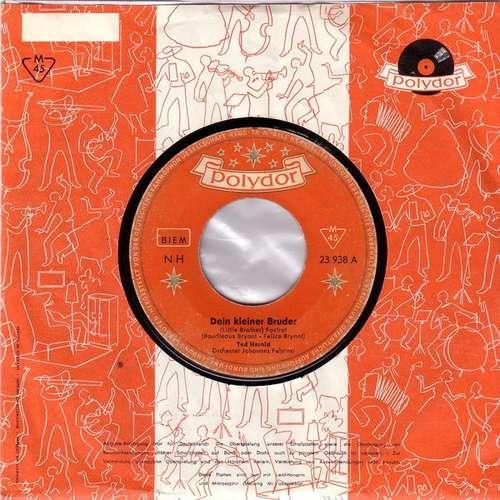 Bild Ted Herold - Dein Kleiner Bruder (7, Single, Mono) Schallplatten Ankauf