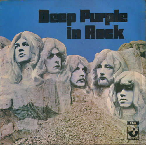 Cover Deep Purple - In Rock (LP, Album, RE, Gat) Schallplatten Ankauf