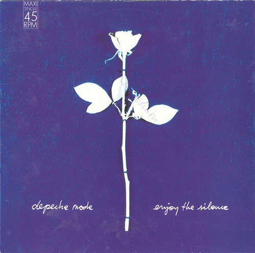 Cover Depeche Mode - Enjoy The Silence (12, Maxi) Schallplatten Ankauf