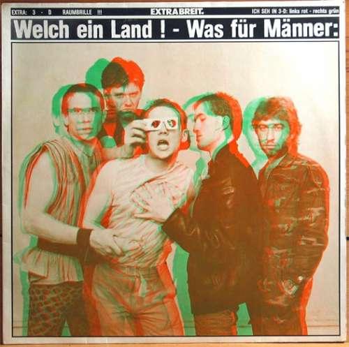 Cover zu Extrabreit.* - Welch Ein Land ! - Was Für Männer: (LP, Album) Schallplatten Ankauf