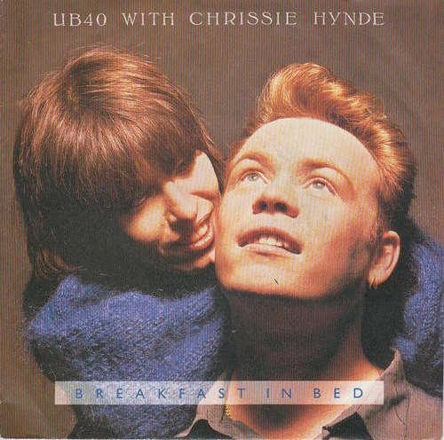 Bild UB40 with Chrissie Hynde - Breakfast In Bed (7, Single) Schallplatten Ankauf