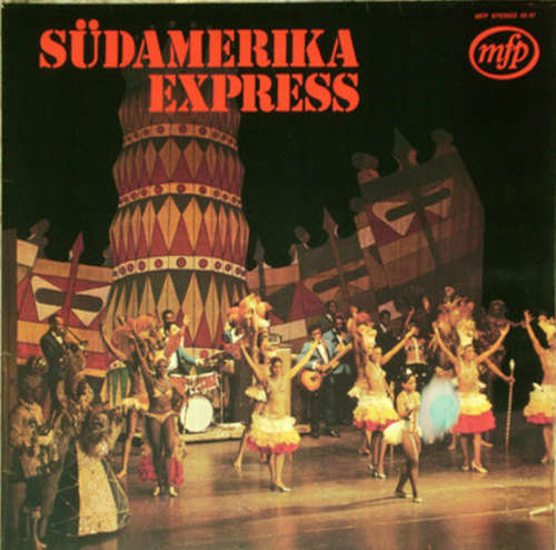 Cover Hazy Osterwald-Sextett* - Südamerika Express (LP) Schallplatten Ankauf