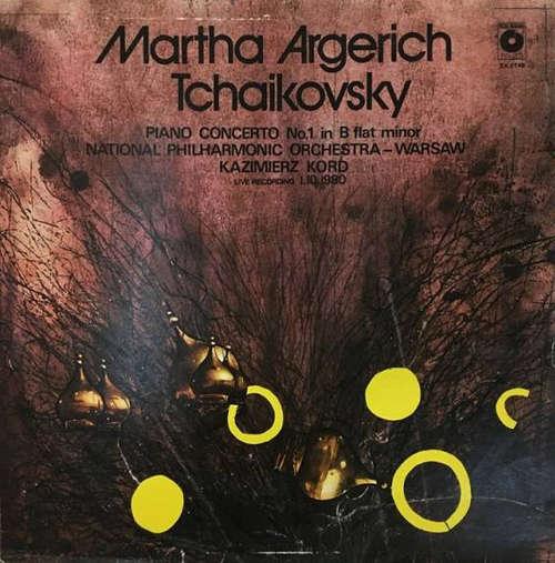 Cover zu Martha Argerich, Tchaikovsky*, National Philharmonic Orchestra - Warsaw*, Kazimierz Kord - Piano Concerto No. 1 In B Flat Minor (LP) Schallplatten Ankauf