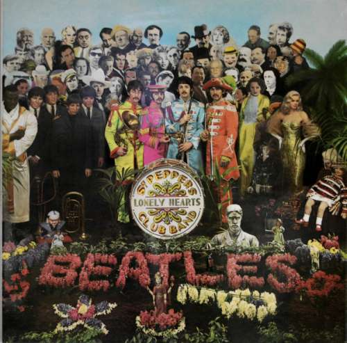 Cover zu The Beatles - Sgt Peppers Lonely Hearts Club Band (LP, Album, RE, 2 B) Schallplatten Ankauf