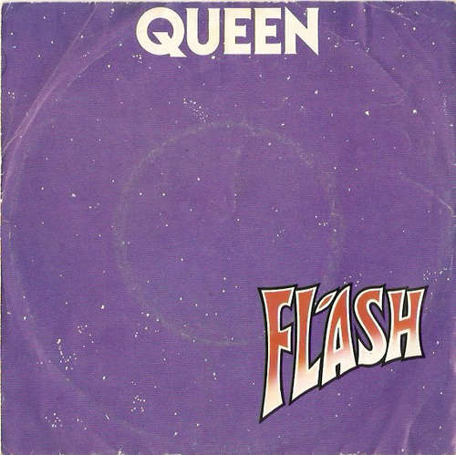 Cover zu Queen - Flash (7, Single, Red) Schallplatten Ankauf