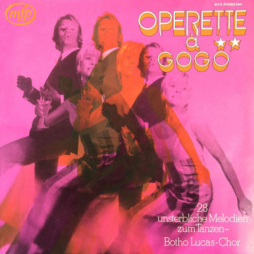 Cover Der Botho-Lucas-Chor - Operette À Gogo  (LP) Schallplatten Ankauf