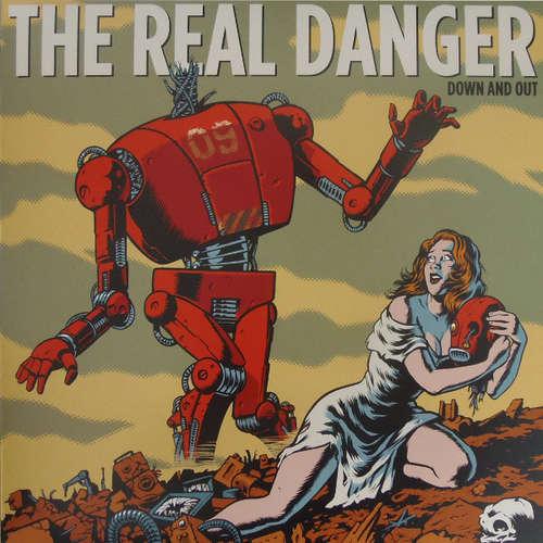 Bild The Real Danger - Down And Out (LP, Blu) Schallplatten Ankauf