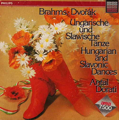 Cover zu Brahms* - Dvořák* - Antal Dorati, Minneapolis Symphony Orchestra - Ungarische Und Slawische Tänze - Hungarian And Slavonic Dances (LP, Album) Schallplatten Ankauf