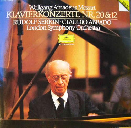 Bild Wolfgang Amadeus Mozart, London Symphony Orchestra*, Rudolf Serkin, Claudio Abbado - Klavierkonzerte • Piano Concertos Nos. 20 & 12 (LP, Club) Schallplatten Ankauf