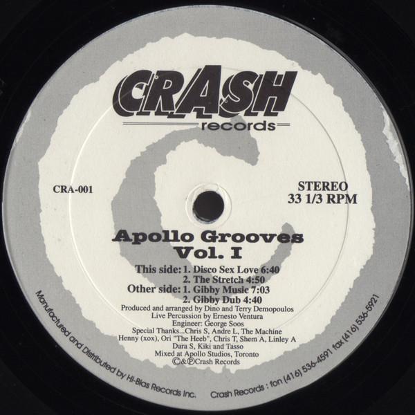 Cover Dino & Terry - Apollo Grooves Vol. I (12) Schallplatten Ankauf