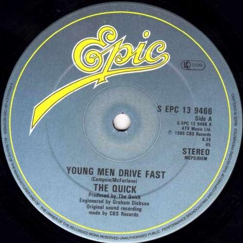 Bild The Quick - Young Men Drive Fast (12, Single) Schallplatten Ankauf