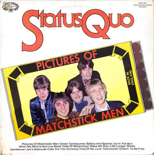 Bild Status Quo - Pictures Of Matchstick Men (LP, Comp, RE) Schallplatten Ankauf