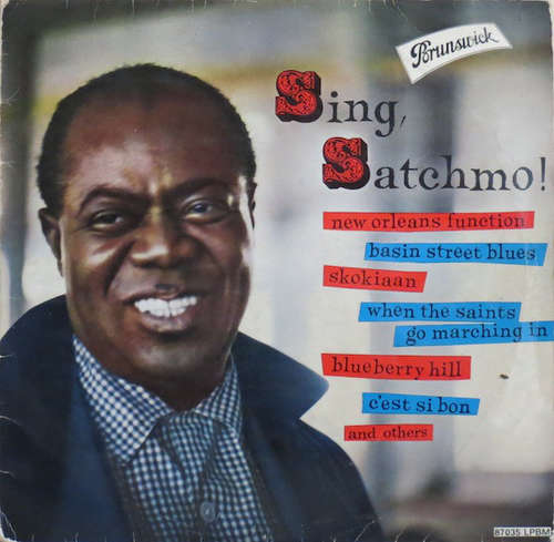 Cover Louis Armstrong With His All Stars* And Orchestra* - Sing, Satchmo! (LP, Comp, Mono) Schallplatten Ankauf