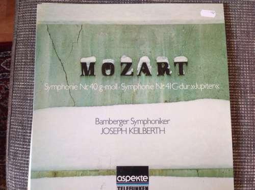 Bild Mozart*, Bamberger Symphoniker, Joseph Keilberth - Symphonie Nr 40 G-Moll - Symphonie Nr 41 C-Dur Jupiter (LP, RE) Schallplatten Ankauf