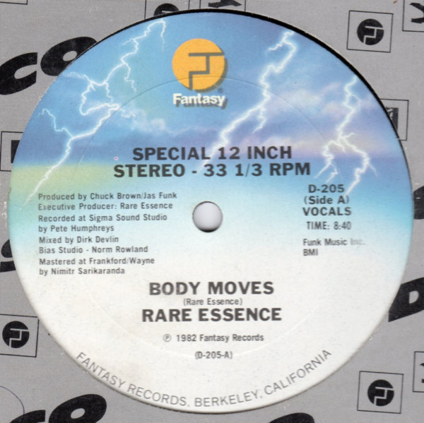 Cover Rare Essence - Body Moves (12) Schallplatten Ankauf