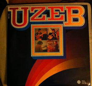 Cover zu UZEB - Live In/À Bracknell (LP, Album) Schallplatten Ankauf